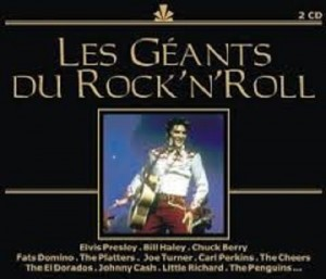 Audio CD Various Artists. Les Geants Du Rock 'N' Roll