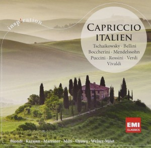 Audio CD Various Artists. Capriccio Italien
