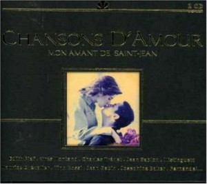 Audio CD Various Artist. Chansons D'amour