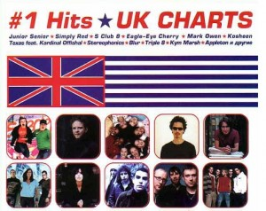 Audio CD #1 Hits Uk Charts