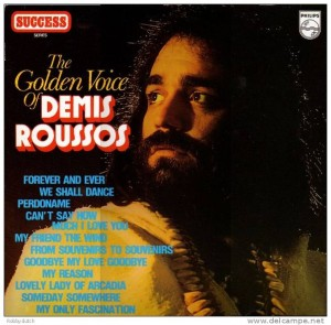 Audio CD Demis Roussos. The Golden Voice Of Demis Roussos