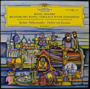 LP Modest Mussorgsky. Pictures At An Exhibition (Ravel) (LP)