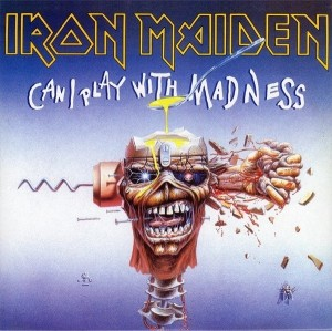 LP Iron Maiden. Can I Play With Madness (LP)
