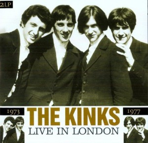 LP The Kinks. Live In London 1973/1977 (LP)