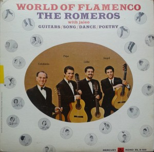 LP The Romeros. World Of Flamenco (LP)