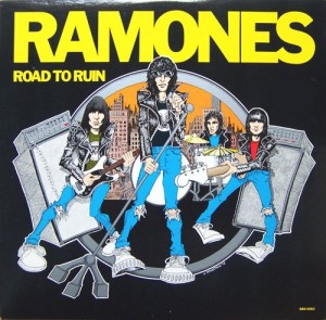 LP Ramones. Road To Ruin (LP)