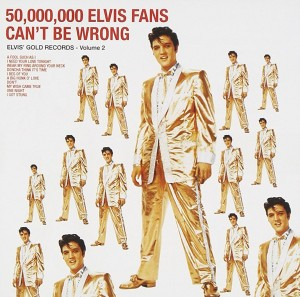 LP Elvis Presley. 50,000,000 Elvis Fans Can't Be Wrong (Elvis' Gold Records, Vol. 2) (LP)