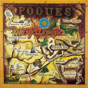 LP The Pogues. Hell's Ditch (LP)