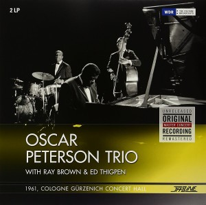 LP Oscar Peterson. 1961 Cologne Gurzenich Concert Hall (LP)