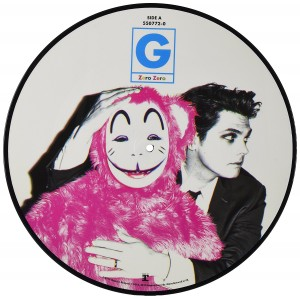 LP Gerard Way. Zero Zero / Television All The Time Single (Picture Vinyl) (LP)