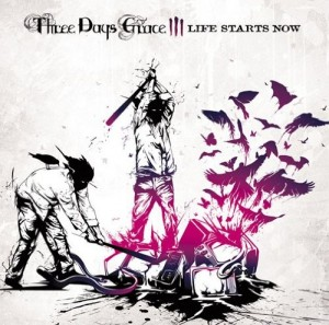 LP Three Days Grace. Life Starts Now (LP)
