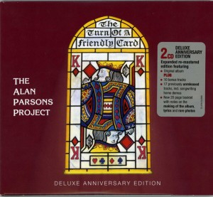 Audio CD The Alan Parsons Project. The Turn Of A Friendly Card (35Th Anniversary)