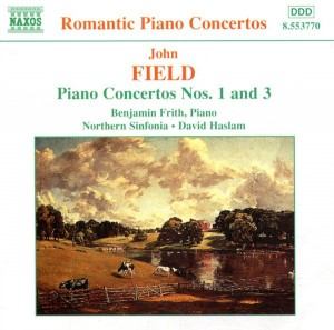 Audio CD Frith, B., Haslam, D., Nse. Field:Piano Concertos Volume 1