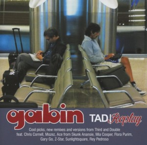 Audio CD Gabin. Third And Double/ Replay