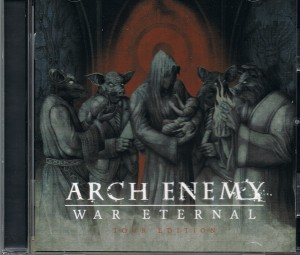 DVD + Audio CD Arch Enemy. War Eternal. Tour Edition