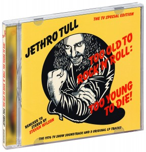 Audio CD Jethro Tull. Too Old To Rock'N'Roll: Too Young To Die! The TV Special Edition