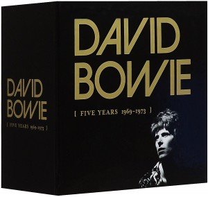 Audio CD David Bowie. Five Years 1969-1973