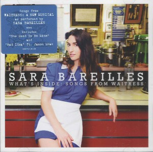 Audio CD Sara Bareilles. What's Inside: Songs from Waitress