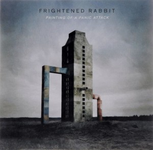 Audio CD Frightened Rabbit. Painting of a panic attack