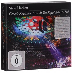 DVD + Audio CD Steve Hackett. Genesis Revisited. Live At The Royal Albert Hall