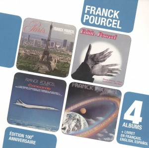Audio CD Franck Pourcel. 4 albums - Edition 100EME Anniversaire