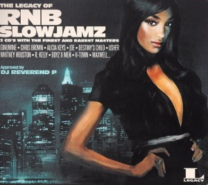 Audio CD Various Artists. The Legacy Of Rnb Slow Jamz