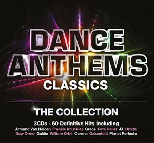 Audio CD Various Artists. Dance Anthems Classics. The Collection