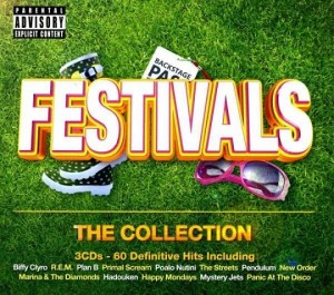 Audio CD Various Artists. Festivals. The Collection