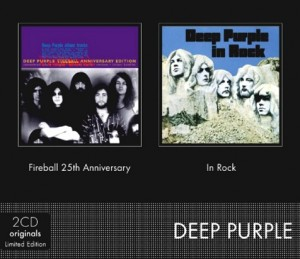 Audio CD Deep Purple. Fireball 25th Anniversary. In Rock. Limited Edition