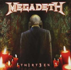 Audio CD Megadeth. Th1rt3en