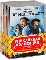 Коллекция фильмов Харрисона Форда (7 DVD) / Indiana Jones and the Temple of Doom / Indiana Jones and the Raiders of the Lost Ark / Indiana Jones and the Kingdom of the Crystal Skull / Indiana Jones and the Last Crusade / Morning Glory / Patriot Games / Cowboys & Aliens