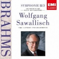 Audio CD Wolfgang Sawallisch. Brahms. Symphony No.3 & Academic Festival Overture.