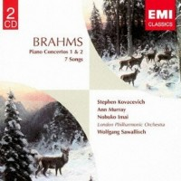 Audio CD Wolfgang Sawallisch. Brahms: Piano Concertos 1 & 2 And 7 Songs