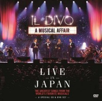 Il Divo. A musical affair. Live in Japan (DVD + CD)