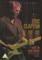 DVD Eric Clapton. Live In San Diego with Special Guest JJ Cale