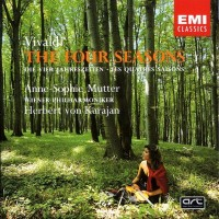 Antonio Vivaldi. The Four Seasons (Anne-Sophie Mutter, Herbert von Karajan, Wiener Philharmoniker) (LP)