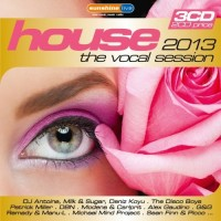 Various Artists. House. The Vocal Session 2013 (3 CD)