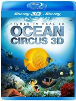 Ocean Circus 3D: Underwater Around the World (Real 3D Blu-Ray + Blu-Ray)