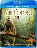 Тропический лес (Real 3D Blu-Ray + Blu-Ray) / Rainforest / Explore the heart of the jungle