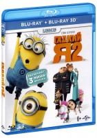3D Blu-Ray Гадкий Я - 2 (Real 3D Blu-Ray + Blu-Ray) / Despicable Me 2