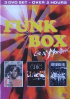 DVD Various artists. James Brown / Nile Rodgers & Chic / Earth, Wind & Fire. Funk Box - Live At Montreux