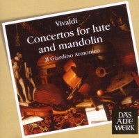 Il Giardino Armonico. Vivaldi: Concertos for Lute and Mandolin (DAW 50) (CD)