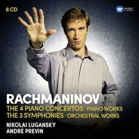 Sergej Rachmaninoff. Orchestral Works. The Piano Concertos, The Symphonies, Rhapsody On A Theme By Paganini, Variations, Preludes, Moments Musicaux (8 CD)