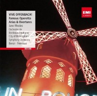 Jane Rhodes. Vive Offenbach! Famous Operetta Arias & Overtures (CD)