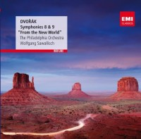 Antonin Dvorak. Symphonies No. 8 & 9 (CD)