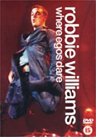 DVD Robbie Williams. Where Egos Dare