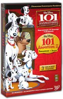 DVD 101 Далматинец. 101 Далматинец II (3 DVD) / One Hundred and One Dalmatians / 101 Dalmatians 2: Patch's London Adventure