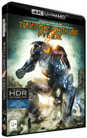 Тихоокеанский рубеж (Blu-Ray 4K Ultra HD) (Blu-Ray) / Pacific Rim