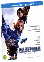 Валериан и город тысячи планет (Real 3D Blu-Ray) / Valerian and the City of a Thousand Planets
