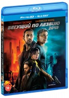 Бегущий по лезвию 2049 (Real 3D Blu-Ray + Blu-Ray) / Blade Runner 2049